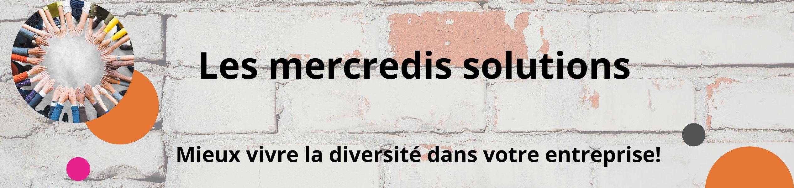 Publicité pour les mercredis solutions Centre Génération Emploi Montréal