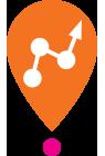 Icône orange résultats Centre Génération Emploi à Montréal