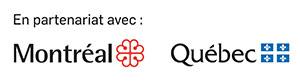Image du logo des bailleurs de fonds du Centre Génération Emploi, c'est à dire la Vlle de Montréal et Emploi Québec